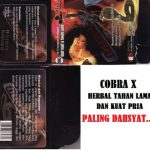 Herbal Viagra Cobra X Manfaat | Efek Samping